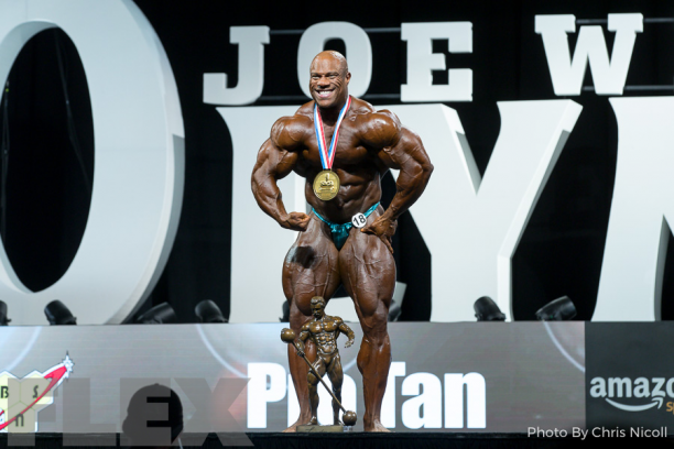 Phil Heath Olympia 2017 2