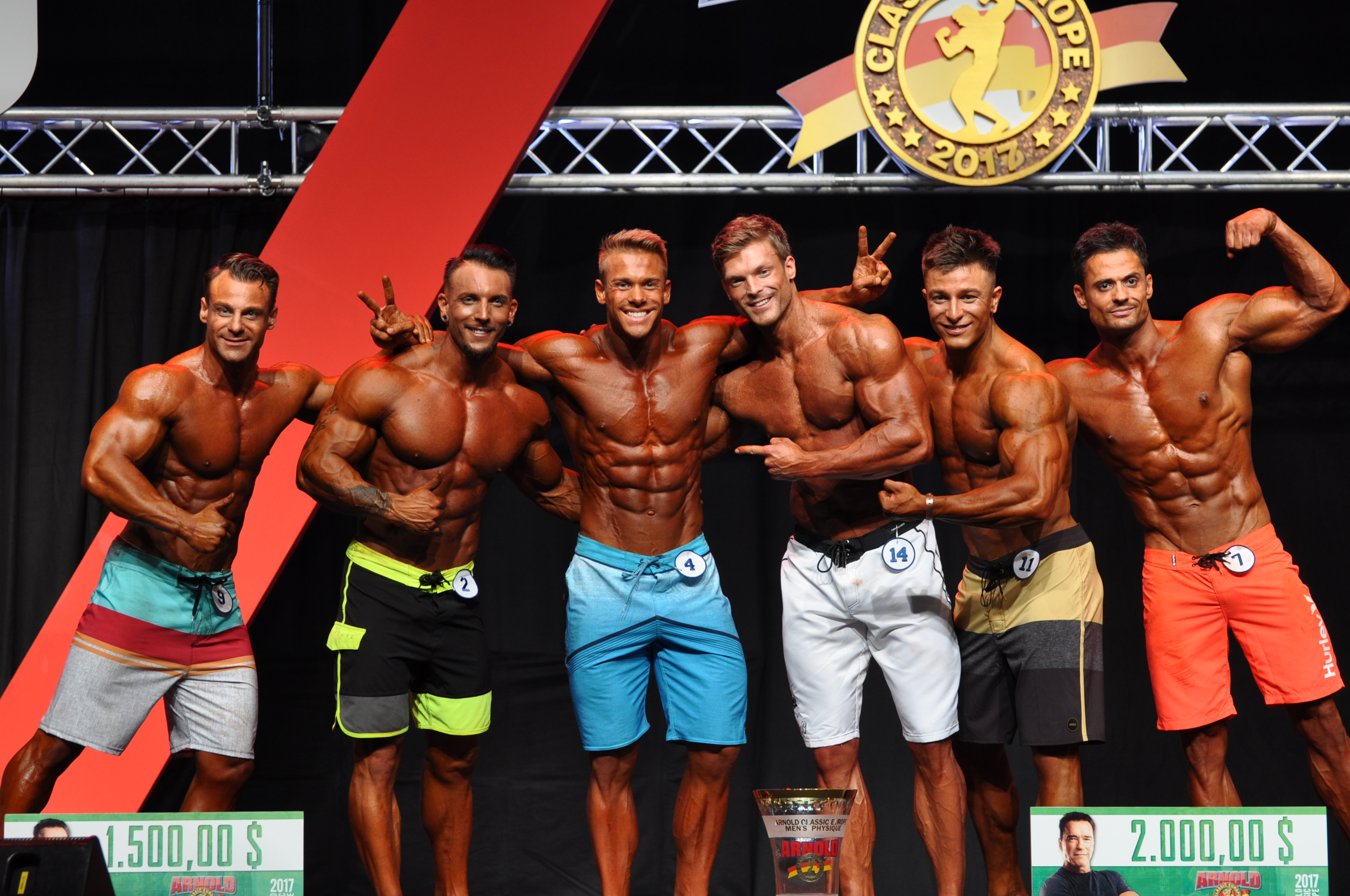 Men's physique top 6